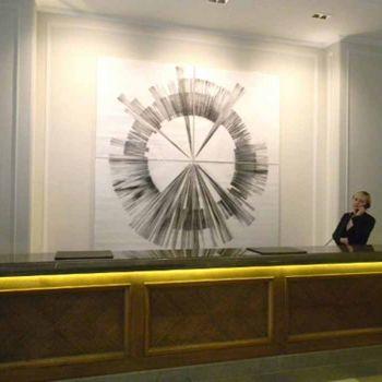 LANDMARKS in reception at the Corinthia Hotel, London.